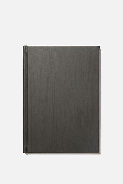 A5 Sketch Notebook, DARK WOOD