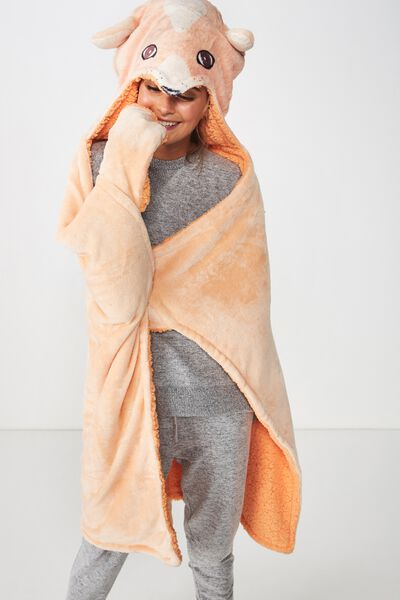Novelty Hooded Blanket, FOX