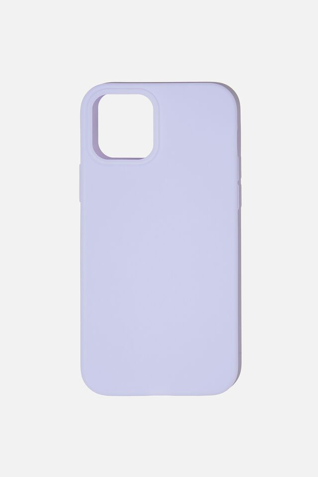 Recycled Phone Case Iphone 12, 12 Pro, PALE LILAC
