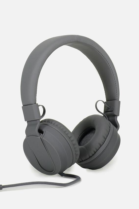 Frequency Headphones, CHARCOAL