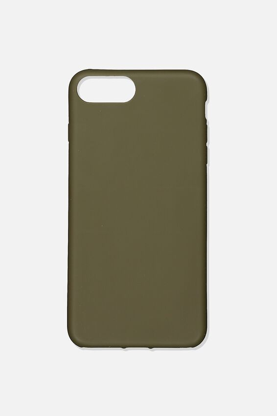 Slimline Recycled Phone Case Iphone 6,7,8 Plus, OILSKIN