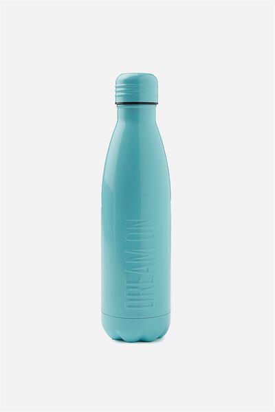 Metal Drink Bottle, AQUA DREAM ON