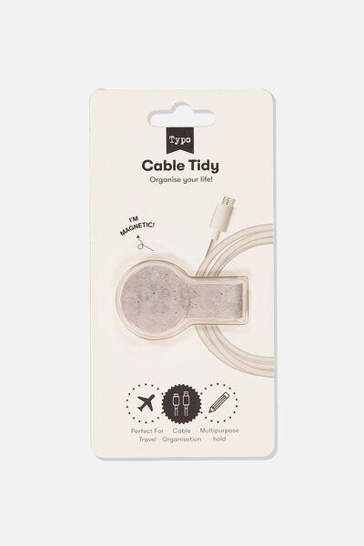 Cable Tidy, CONCRETE