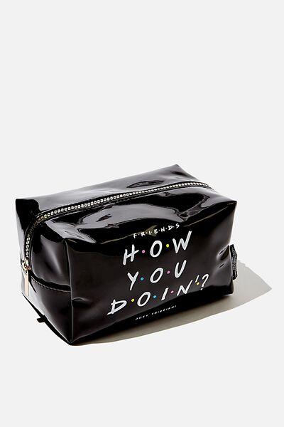 Made Up Cosmetic Bag, LCN WB FRI HOW YOU DOIN