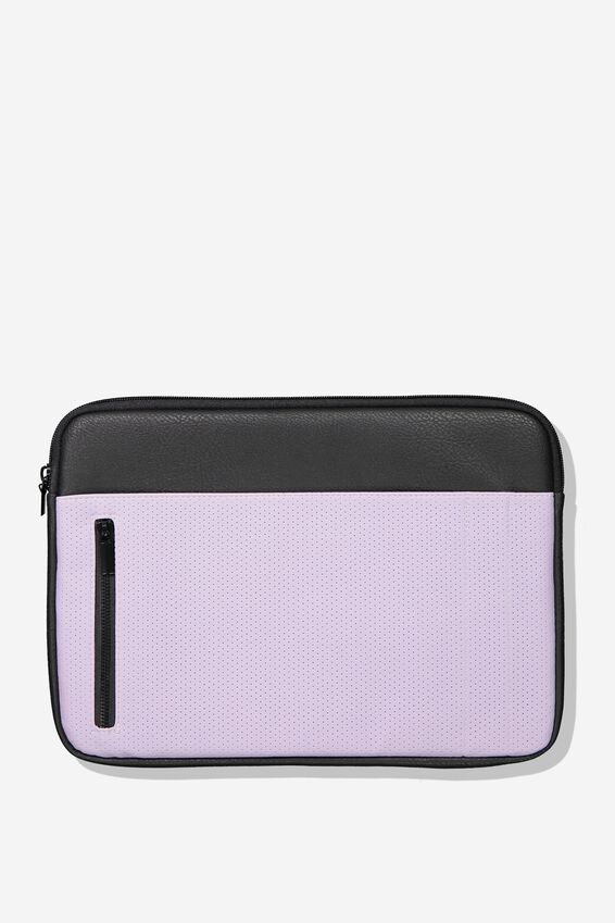 """Take Charge Laptop Cover 13"""", LILAC"""