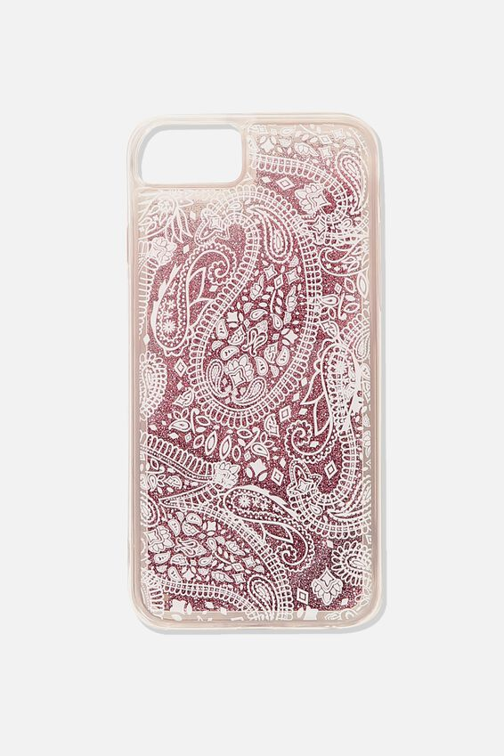 Shake It Phone Case Universal 6,7,8, WHITE LACE