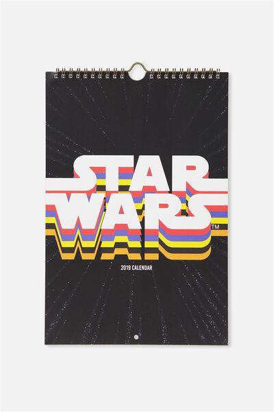 2019 Get A Date Calendar, LCN STAR WARS