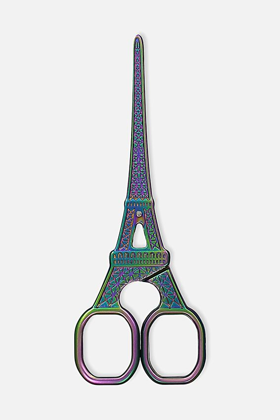 Eiffel Scissors, OIL SLICK