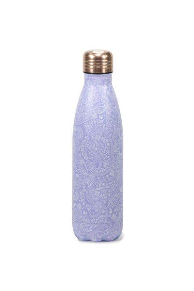 Metal Drink Bottle, LILAC LACE