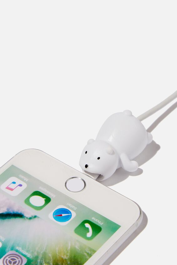 Cable Covers, POLAR BEAR