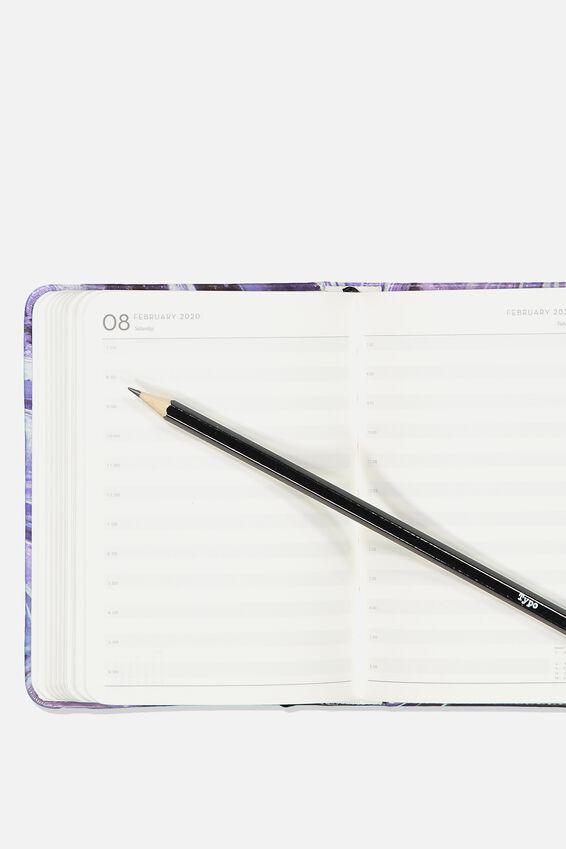 2019 20 A6 Daily Buffalo Diary, DARK MARBLE