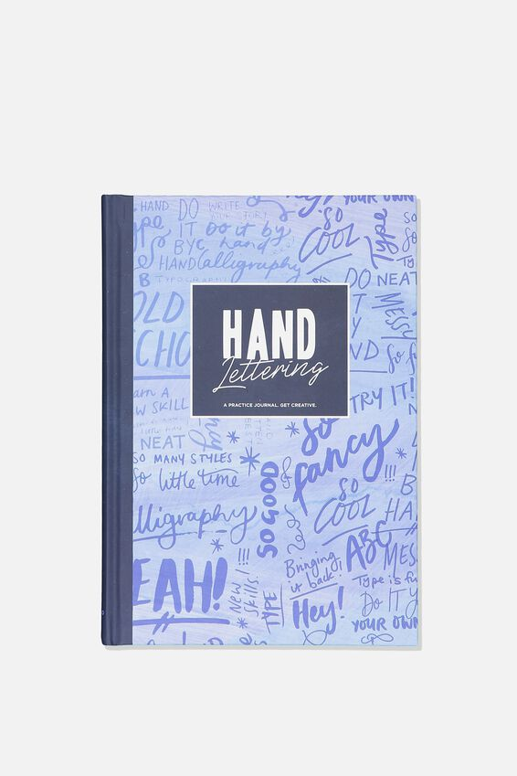 A5 Hand Lettering Activity Journal, HAND LETTERING