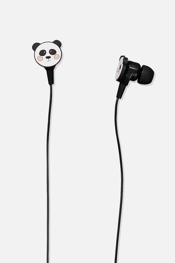 Earphones, PANDA