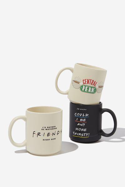 Pack Of 3 Mugs, LCN WB FRI FRIENDS