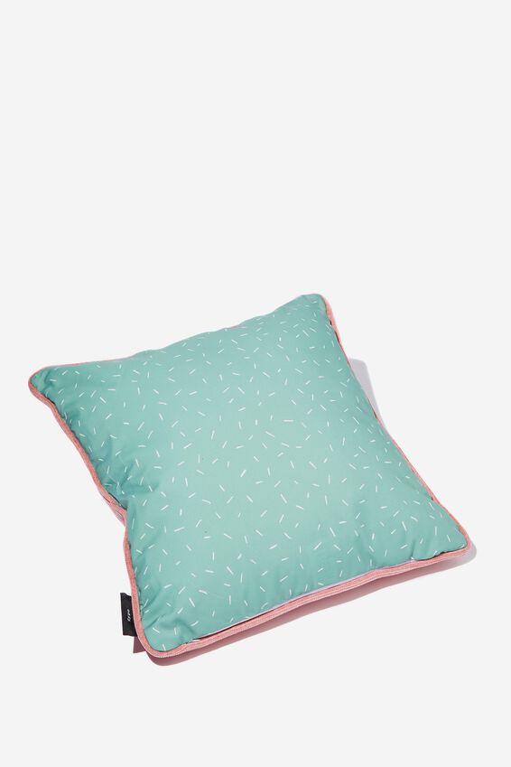 Square Cushy Cushion, COUCH CARBS