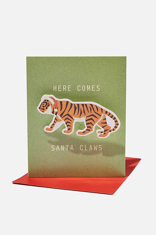 Christmas Card 2021, SANTA CLAWS