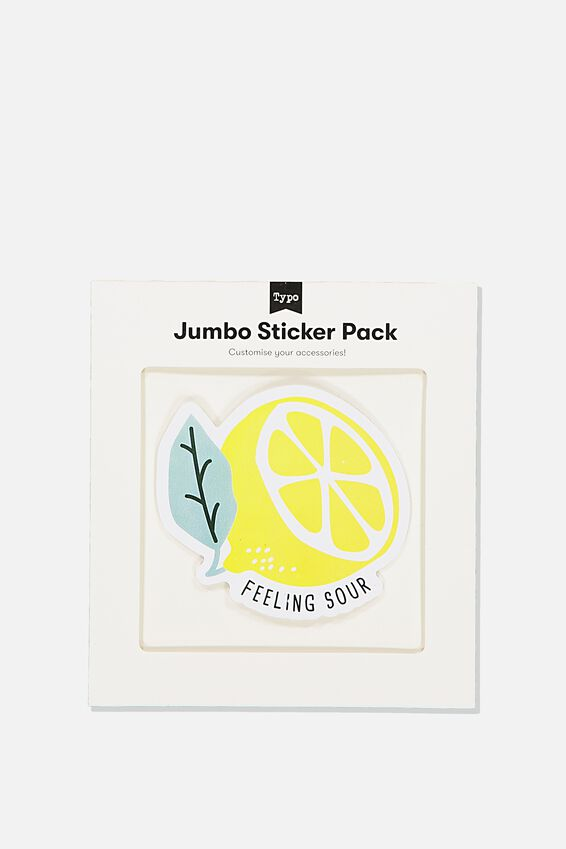 Jumbo Sticker, FEELING SOUR