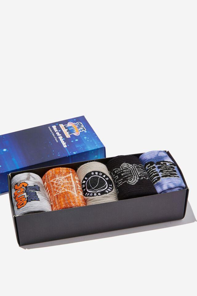 Space Jam Box of Socks, LCN WB SPACE JAM LEGACY