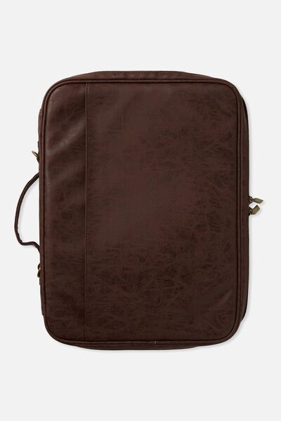 Mobile Laptop Folio 15 Inch, RICH TAN