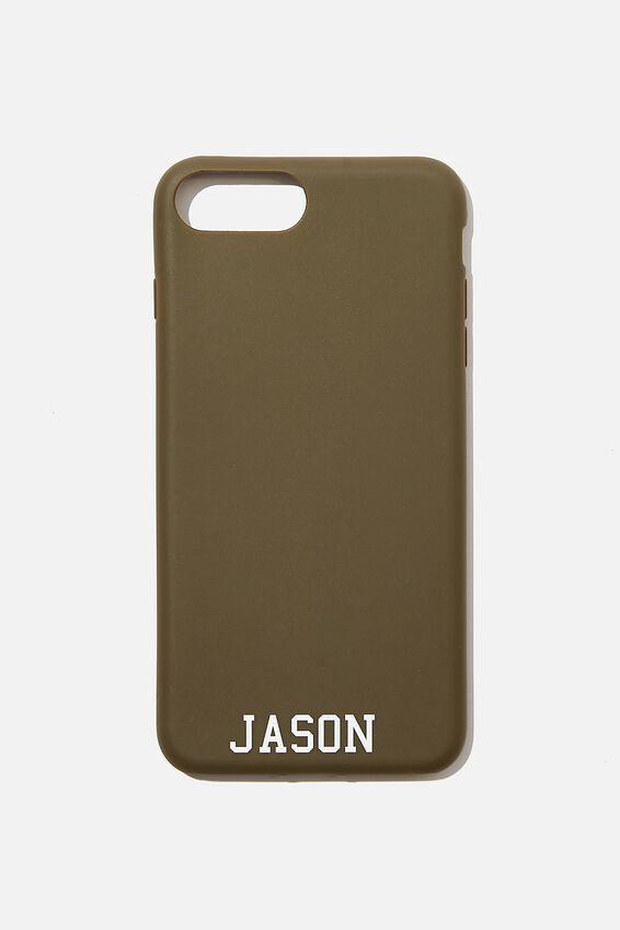 Phone Case 6,7,8 Plus Personalised, OILSKIN