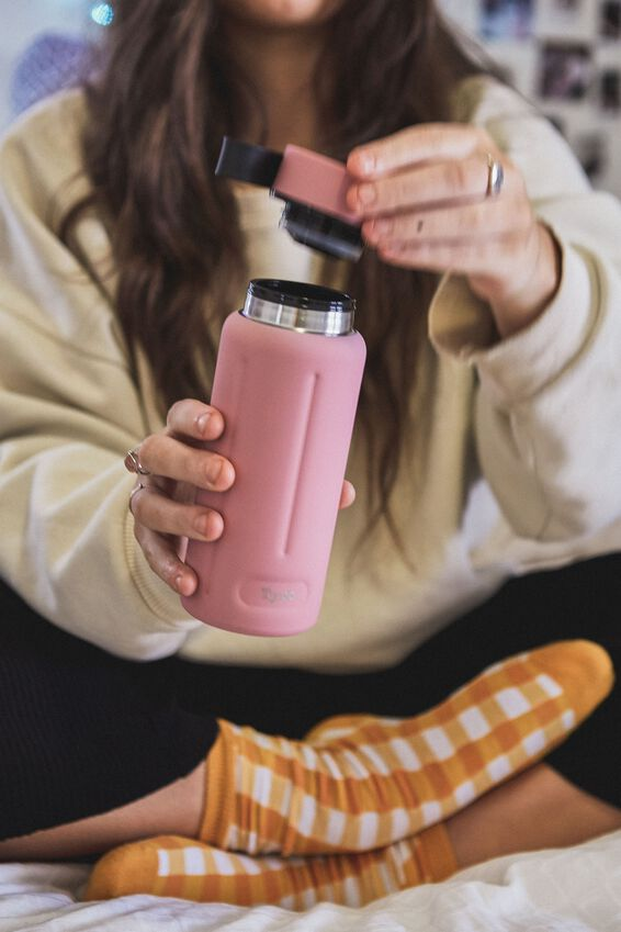 The Traveller Drink Bottle, DUSTY ROSE