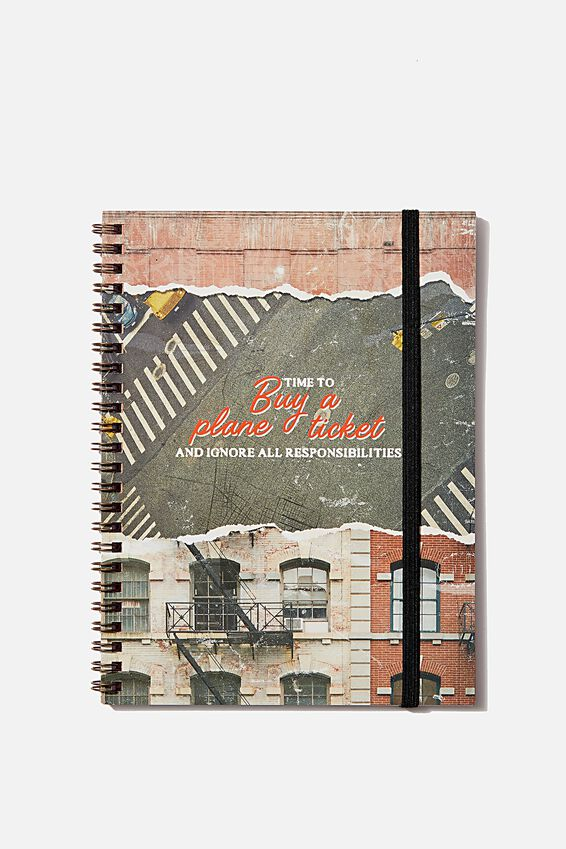 A5 Spinout Notebook - 120 Pages, STATE OF MIND