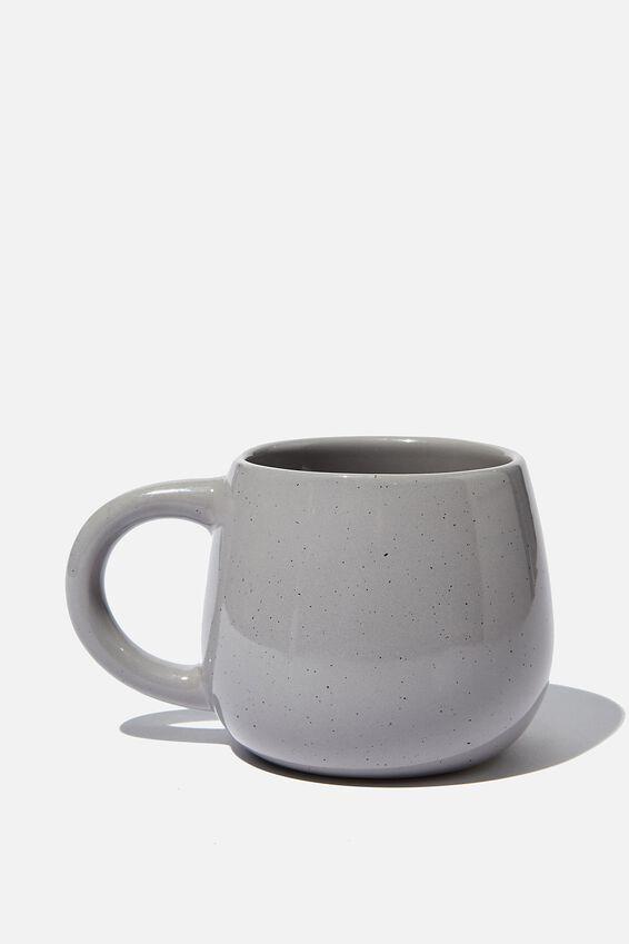 Subtle-Tea Mug, GREY FLECK