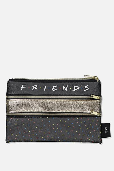 Double Archer Pencil Case, LCN WB FRIENDS