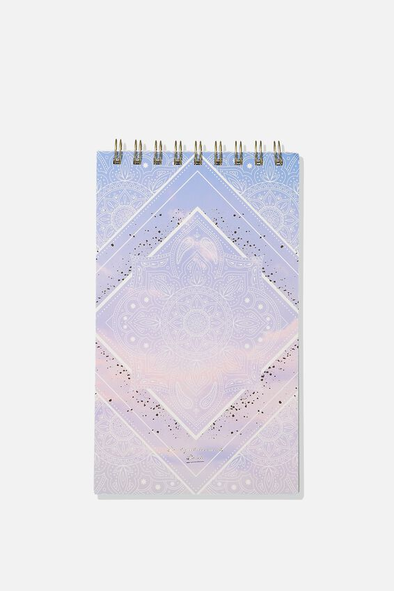 Flipout Notepad, MANDALA SKY