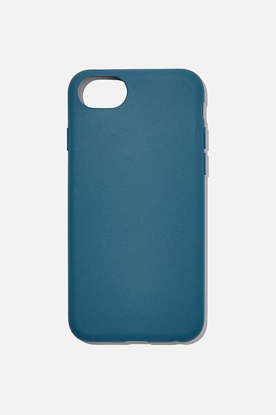 Slimline Recycled Phone Case Iphone SE, 6,7,8, DEEP TEAL