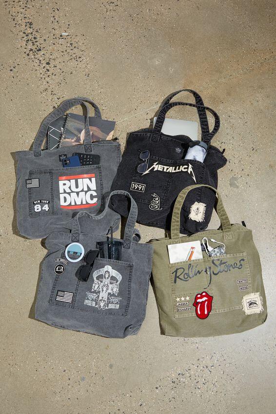 Tour Tote Bag, LCN BRA GUNS AND ROSES