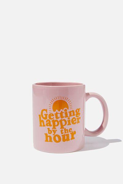 Anytime Mug, GETTING HAPPIER