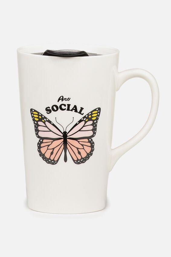 Nomad Travel Mug, ANTI SOCIAL