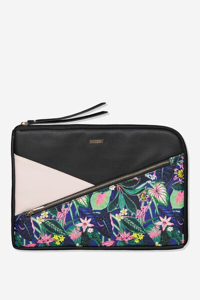 Premium Laptop Case 13 inch, RESORT FLORAL