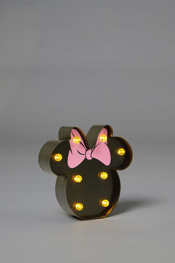 Shaped Mini Marquee Light, LCN MINNIE HEAD