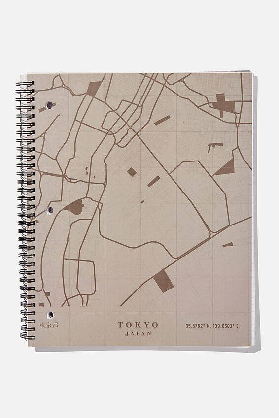 College Ruled Campus Notebook, TOKYO JAPAN