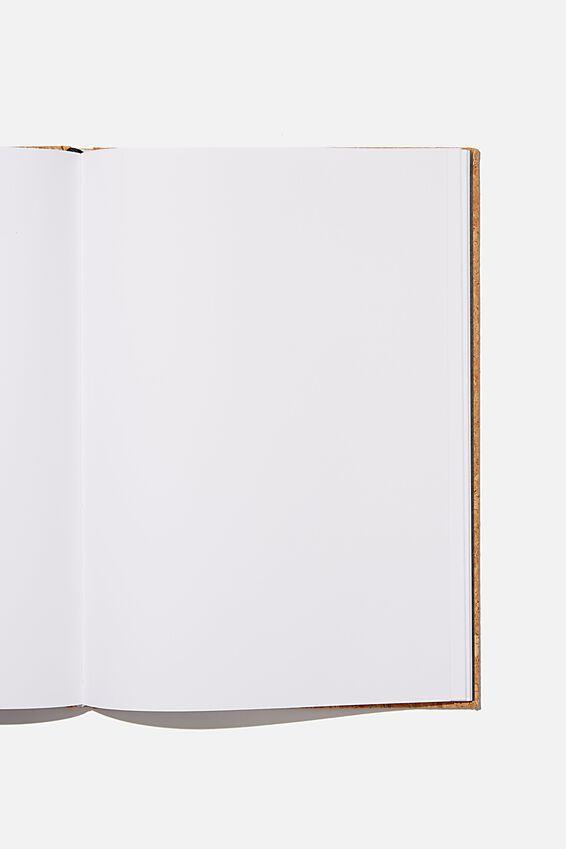 A4 Sketch Notebook, NATURAL CORK