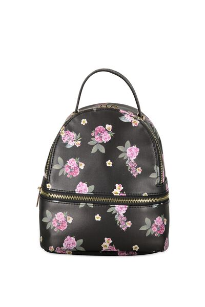 Mini Fashion Backpack, FLORAL