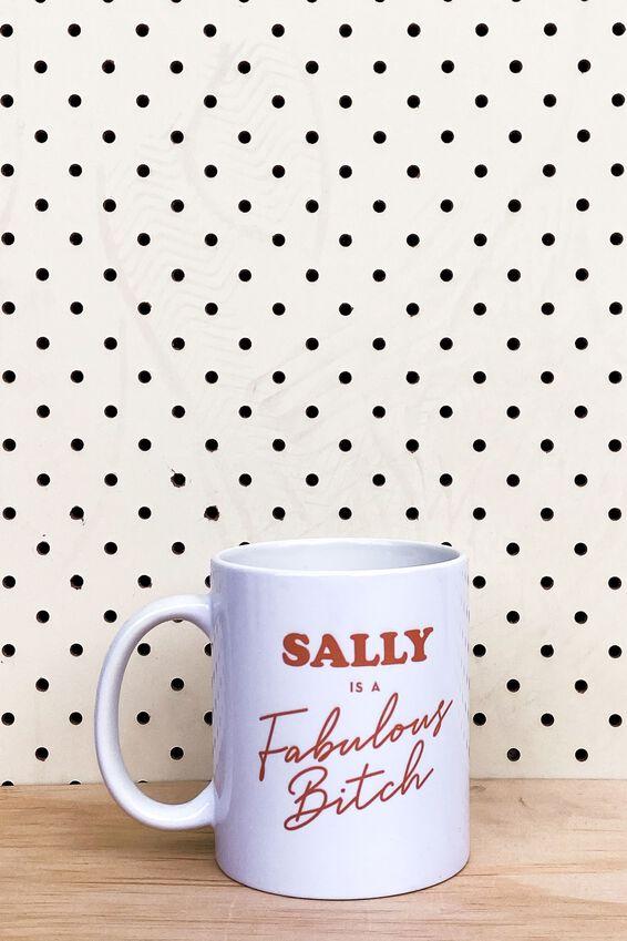 Personalised Mug, FABULOUS BITCH