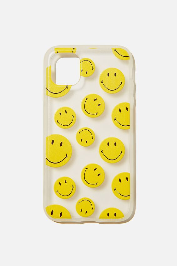 Smiley Protective Phone Case iPhone 11, LCN SMI SMILEY YDG
