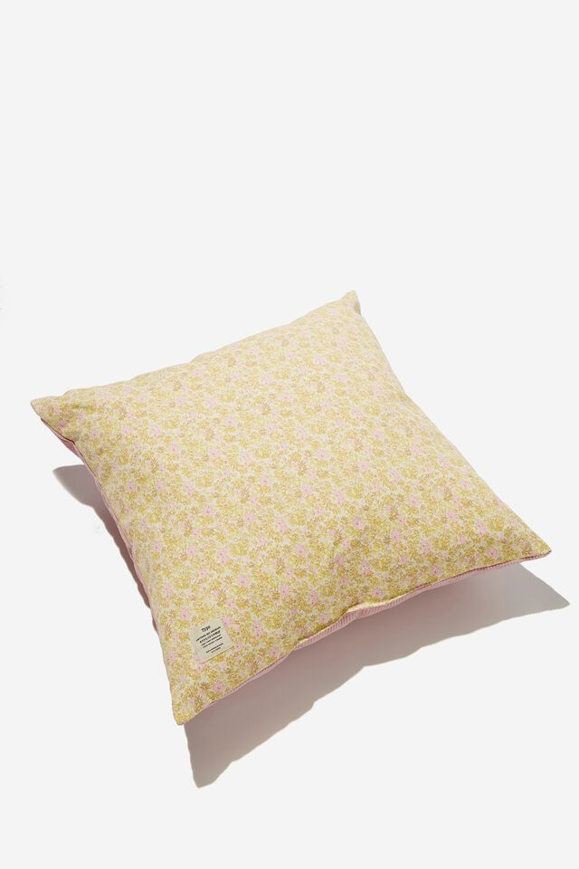 Square Cushion, SUZI FLORAL CORD