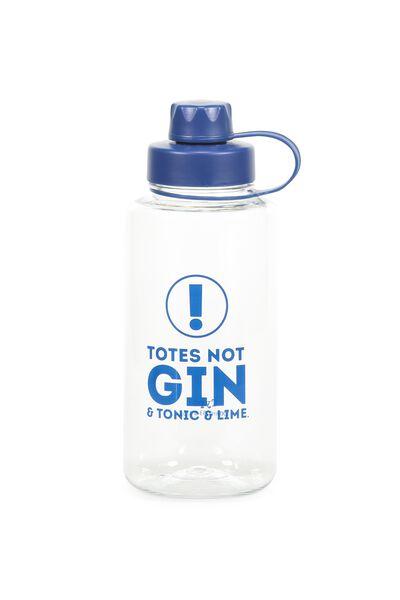Gulp Drink Bottle, GIN!