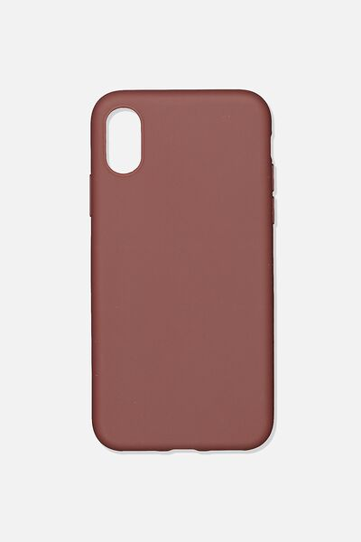 Slimline Recycled Phone Case Iphone X, Xs, MULBERRY