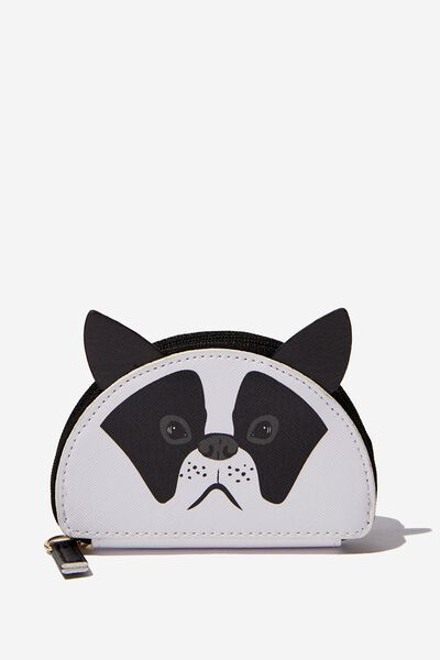 Novelty Coin Purse, FRENCHIE FACE