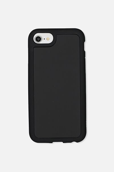 Superior Phone Case Universal 6,7,8, BLACK RUBBERISED