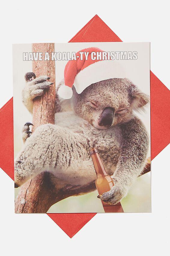 Christmas Card 2020, KOALATY CHRISTMAS