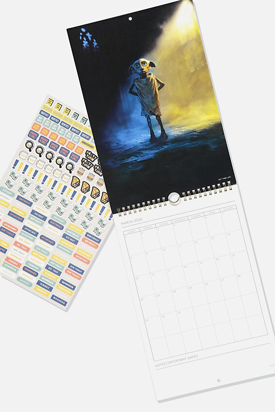 2020 Get A Date Calendar, LCN WB HARRY POTTER