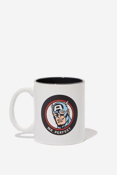 Anytime Mug, LCN MAR CAPTAIN AMERICA