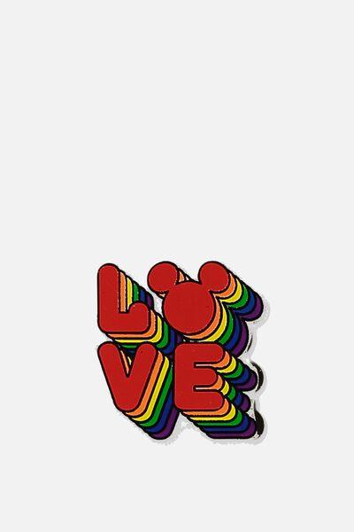 Lcn Enamel Badges, LCN DIS LOVE MICKEY PRIDE