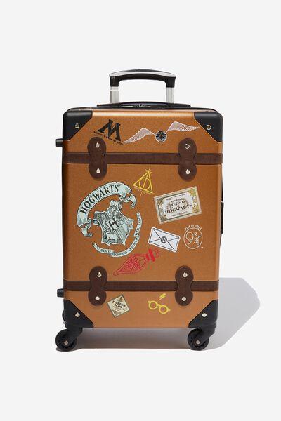 Vintage Suitcase, LCN WB HARRY POTTER STAMPS